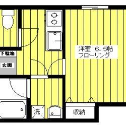 201  築浅物件 バス・トイレ別(窓あり) システムキッチン(ガス2口・グリル付き) 防音フロアー(壁ボード2重張り仕上げ)