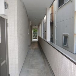 共有部分 廊下