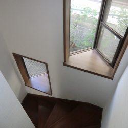階段出窓♪