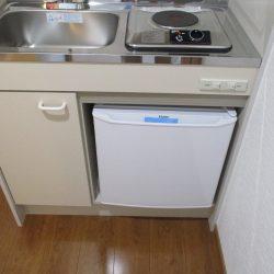 ミニ冷蔵庫新品(キッチン)